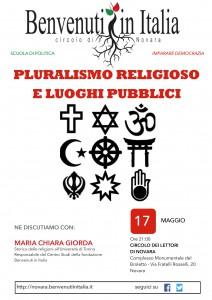 Pluralismo religioso e luoghi pubblici